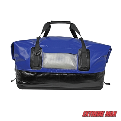 Extreme Max 3006.7345 Dry Tech Waterproof Roll-Top Duffel Bag, Extra Large 110 Liter -Blue