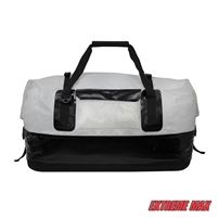 Extreme Max 3006.7351 Dry Tech Waterproof Roll-Top Duffel Bag, Extra Large 110 Liter - Clear