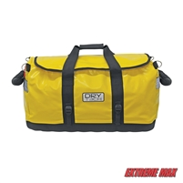 Extreme Max 3006.7359 Dry Tech Water-Repellent Zippered Duffel Bag, Large 101.5 Liter - Yellow