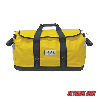 Extreme Max 3006.7359 Dry Tech Water-Repellent Duffel Bag - 101 Liter, Yellow