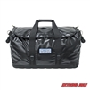 Extreme Max 3006.7366 Dry Tech Water-Repellent Zippered Duffel Bag, Medium 54.3 Liter - Black