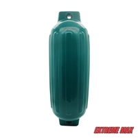 "Extreme Max 3006.7697 BoatTector Inflatable Fender - 8.5"" x 27"", Teal"
