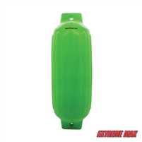 "Extreme Max 3006.7706 BoatTector Inflatable Fender - 8.5"" x 27"", Neon Green"