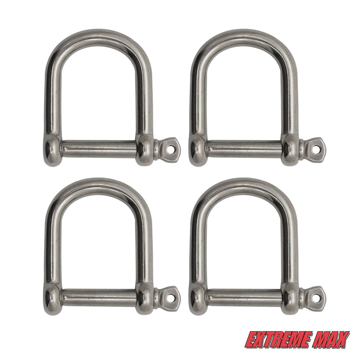 Extreme Max 3006.8303 BoatTector Stainless Steel Bow Shackle 3//4