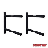 Extreme Max 3006.8468 Horizontal Surfboard/SUP Storage Rack - Twin