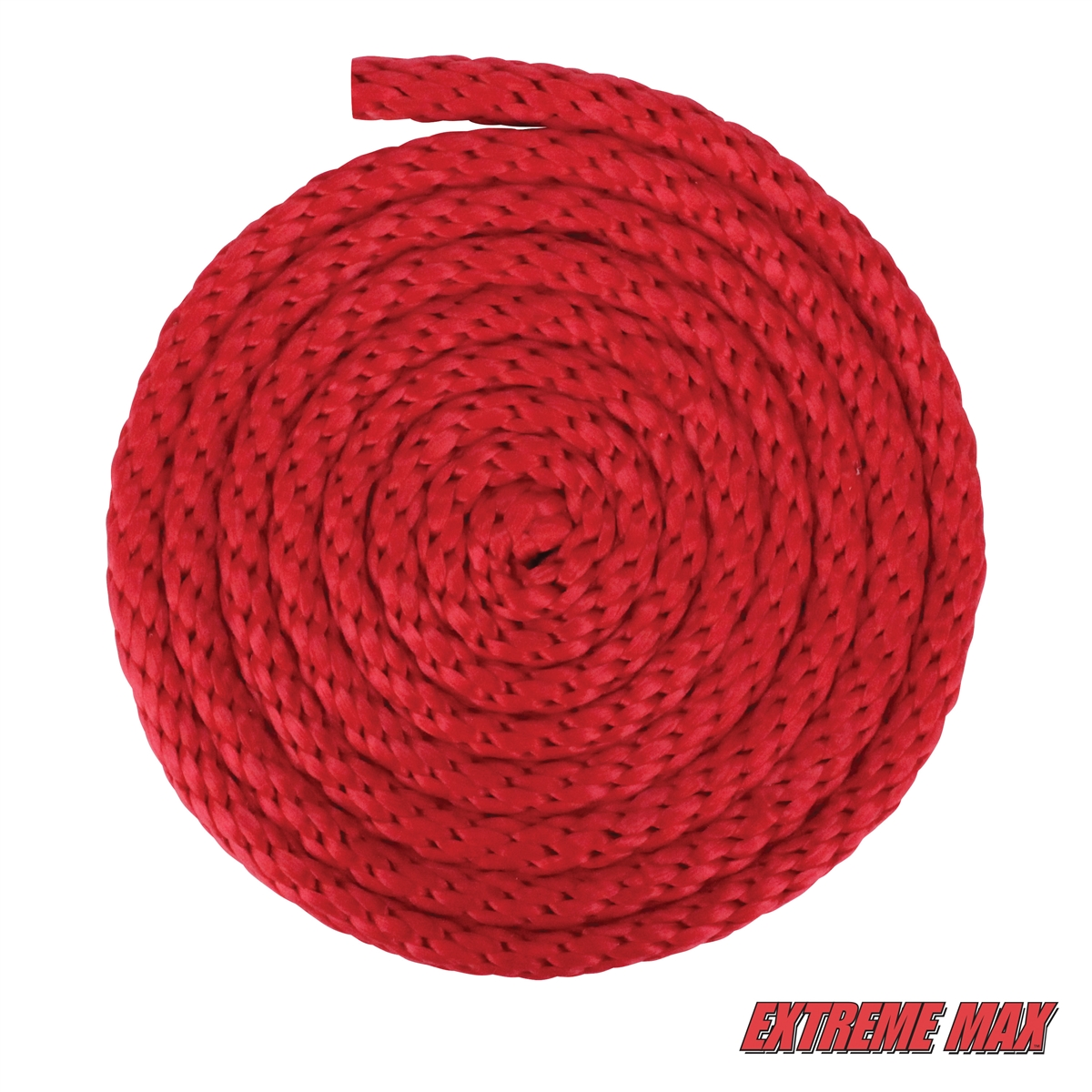 Extreme Max 3008.0238 Blue White 5//8 x 100 Solid Braid MFP Utility Rope