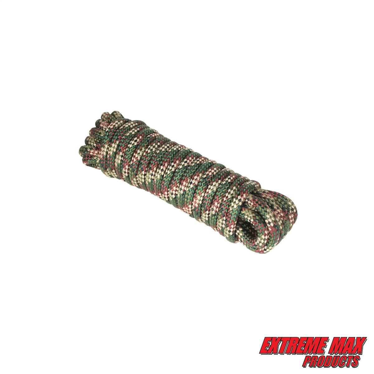 Extreme Max 30080397 16 Strand Diamond Braid Utility Rope