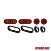 Extreme Max 5001.1362 LED Taillight Kit with Grommets
