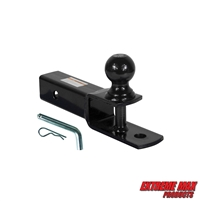 "Extreme Max 5001.1383 3-in-1 ATV Ball Mount with 2"" Ball - 2"" Shank"