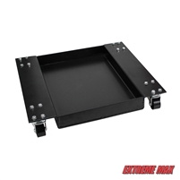 Extreme Max 5001.5067 Dolly Tray for Wide Motorcycle Scissor Jack