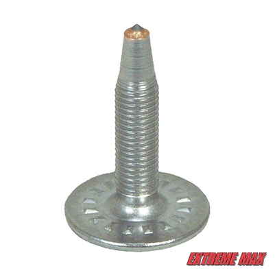 "Extreme Max 5001.5339 Platinum Plus Studs - 1.15"", Pack of 1000"