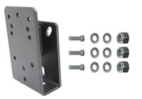 Extreme Max 5001.5793 Jeep Spare Tire Relocation Bracket – Fits CJ/JK/LJ/TJ/YJ Models