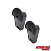 Extreme Max 5001.5811 Minimalist Wall-Mount Helmet Hanger - Pack of 2