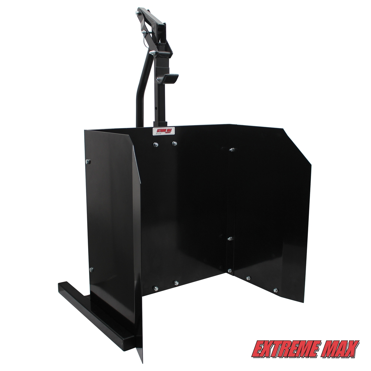 Extreme Max 5001 6026 Lever Lift Stand With Warm Up Shield