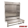 Extreme Max 5001.6049 Double-Wide Flip-Out Aluminum Storage Cabinet