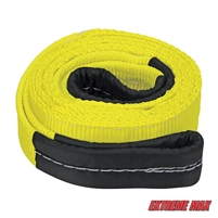 "Extreme Max 5600.3012 3"" x 6.5' ""Tree Saver"" ATV / UTV Winch Strap with 20,000 lb. WLL"
