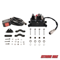 Extreme Max 5600.3060 Universal Replacement Contactor / Relay with Handlebar Rocker Switch Kit for 2000-3600 lb. ATV Winches