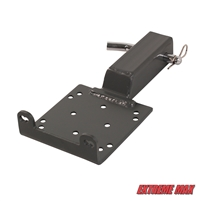 "Extreme Max 5600.3084 Universal 2"" Receiver Hitch Winch Mount for ATV"