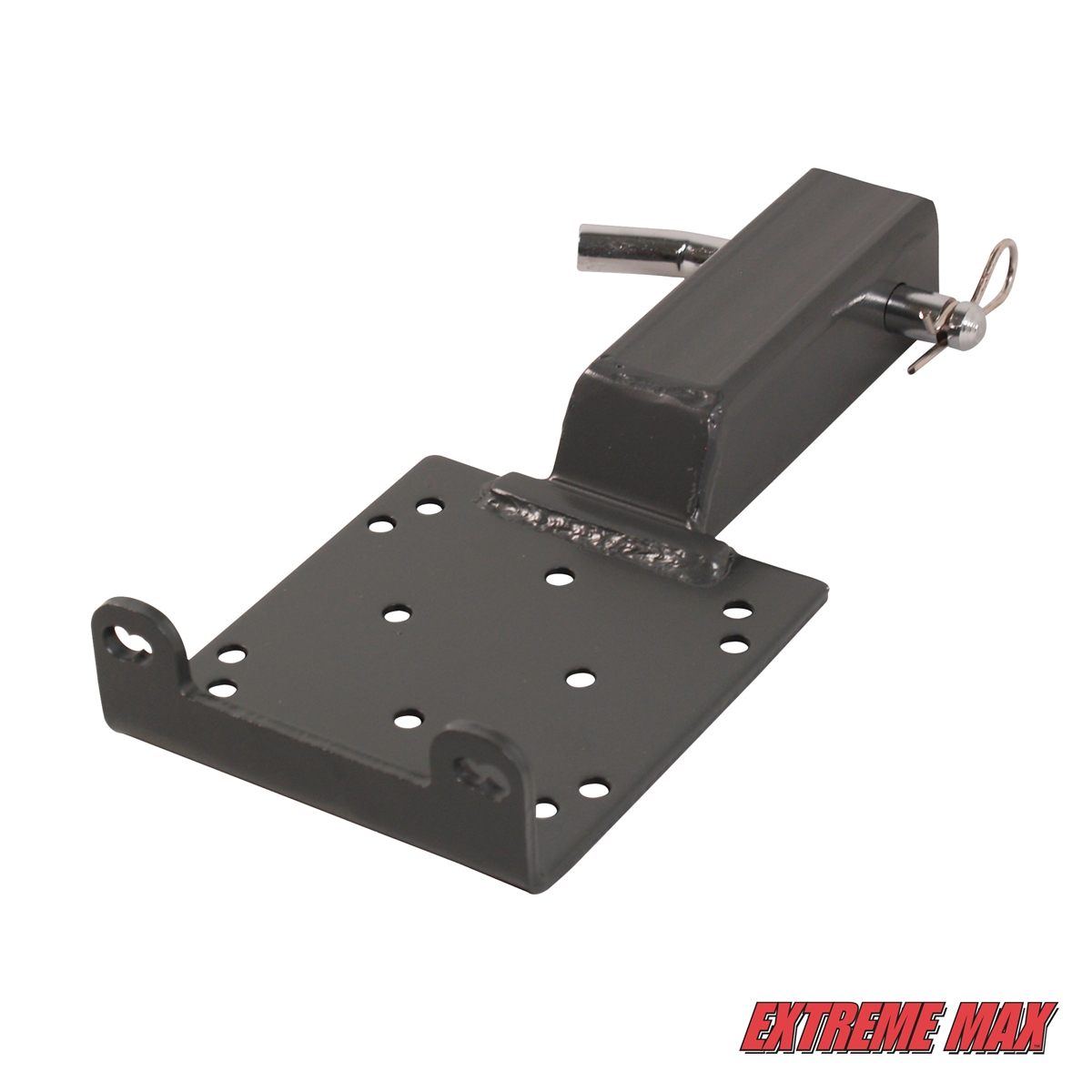 extreme max 5600 3084 universal 2 receiver hitch winch mount for atv