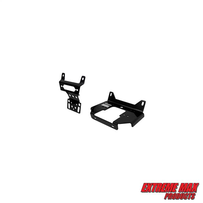 Extreme Max 5600.3122 UTV Winch Mount for Polaris RZR 900, 1000, Turbo