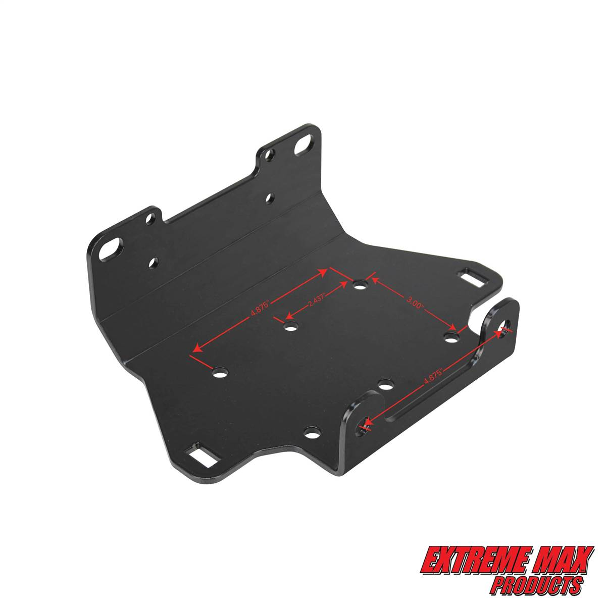 Extreme Max 56003133 Atv Winch Mount For Yamaha Grizzly 550 700 Wiring Diagram On
