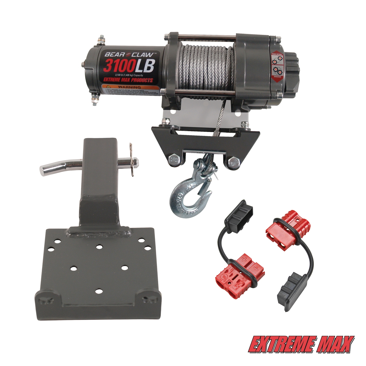 5600.3198 2 extreme max 5600 3198 complete 3100 lb winch & quick release kit bear claw winch wiring diagram at virtualis.co