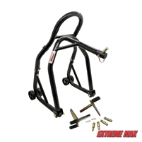 Extreme Max 5600.3226 Sport Bike Front Lift Stand with Triple Tree Headlift Attachment