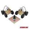 Extreme Max 5800.0200 Power Wheels Driveable Snowmobile Dollies - Standard