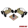 Extreme Max 5800.0203 Power Wheels Driveable Snowmobile Dollies - Wide