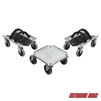 Extreme Max 5800.0225 V-Slides Snowmobile Dolly System - Aluminum
