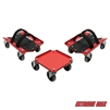 Extreme Max 5800.0228 V-Slides Snowmobile Dolly System - Powdercoated Steel