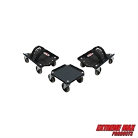 Extreme Max 5800.0232 V-Slides Snowmobile Dolly System - Steel, Black