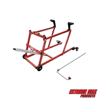Extreme Max 5800.1066 PRO Snowmobile Lift with Wheel Kit - 1000 lbs. Capacity