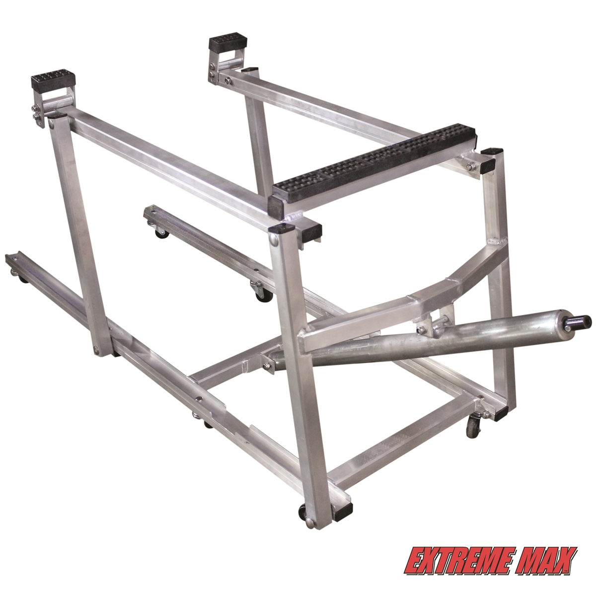 Extreme max deluxe aluminum snowmobile lift for Shop hoist plans