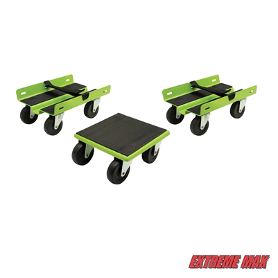 Extreme Max 5800.2006 Economy Snowmobile Dolly System - Green