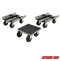 Extreme Max 5800.2009 Economy Snowmobile Dolly System - Gray