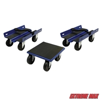 Extreme Max 5800.2012 Economy Snowmobile Dolly System - Blue