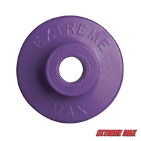 Extreme Max 5900.1158 Round Plastic Backers - Purple, Pack of 24