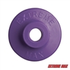 Extreme Max 5900.1161 Round Plastic Backers - Purple, Pack of 48